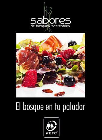 """Presentacion del libro de recetas """"El bosque en tu paladar"""""""