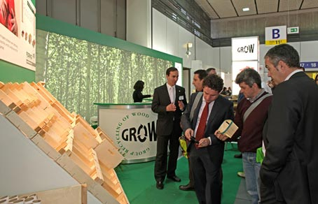 El envase natural de madera destaca en Berlín
