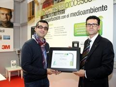MADERALIA concede a 3M ESPAÑA, S.A. el Premio a la Sostenibilidad