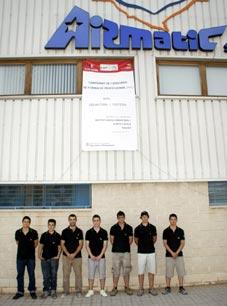 AIRMATIC acogió el Campeonato de Catalunya de Formación Profesional CATSKILLS 2012