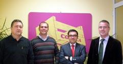 El nuevo Presidente de CONFEMADERA visita COENCA