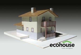 El Grupo KUUSAMO muestra sus casas de madera pasivas y ecologicas en Navarra