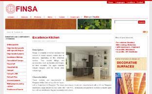Finsa home lanza su primera tienda on line de cocinas for Muebles de cocina finsa