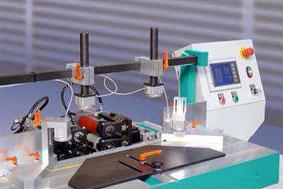 PP2-NC, de HOFFMANN: Maquina de control numerico para uniones de marcos