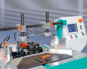 Maquina de control numerico para uniones de marcos