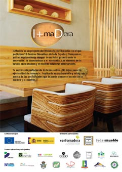 Los socios del proyecto I+Madera presentan los prototipos del Hotel Playa del Siglo XXI