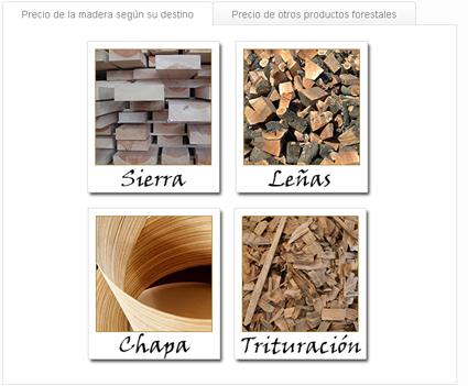 Aumenta el consumo y el precio de la madera para trituración