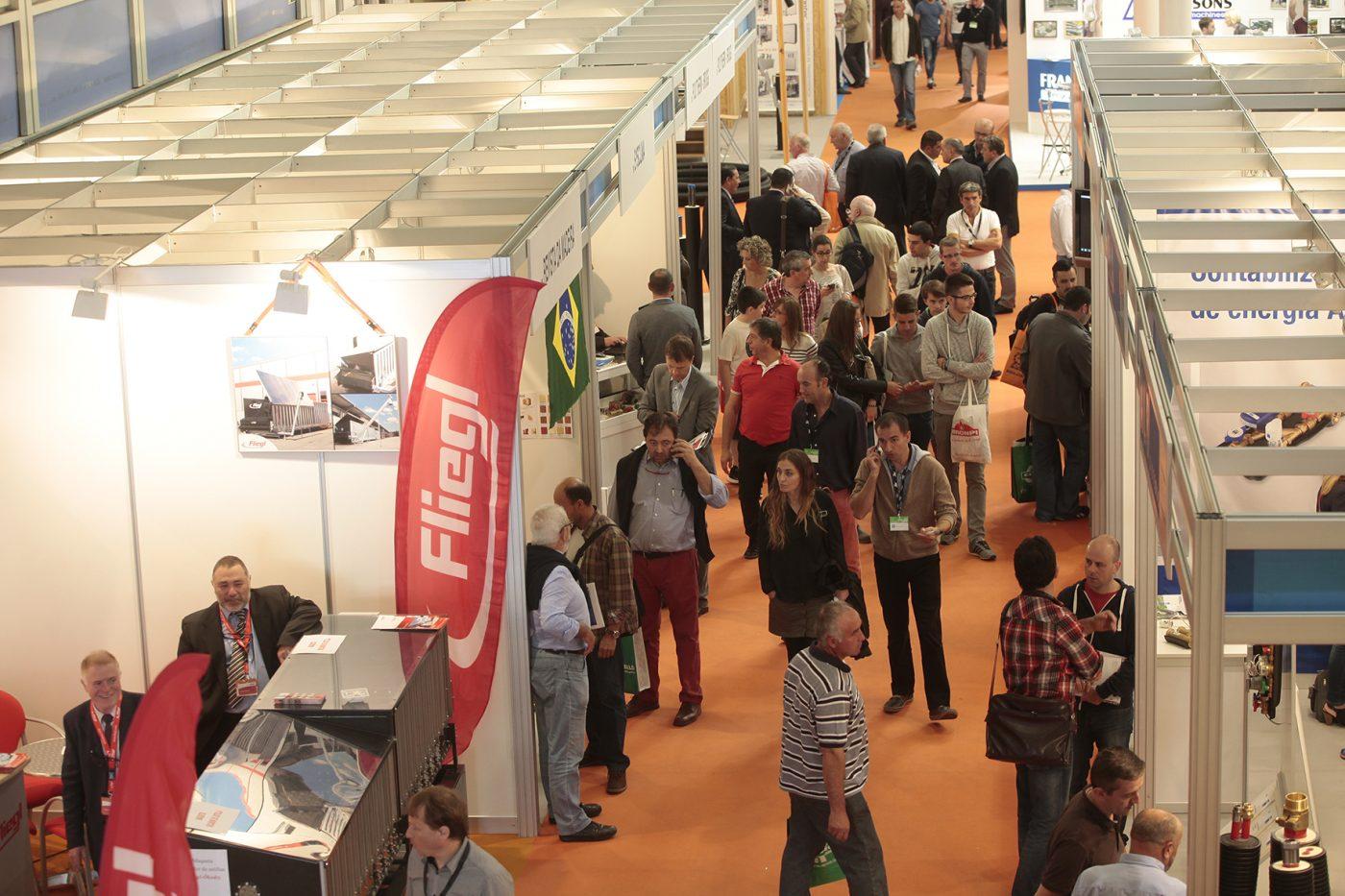 Más de 15.000 profesionales visitaron EXPOBIOMASA 2015