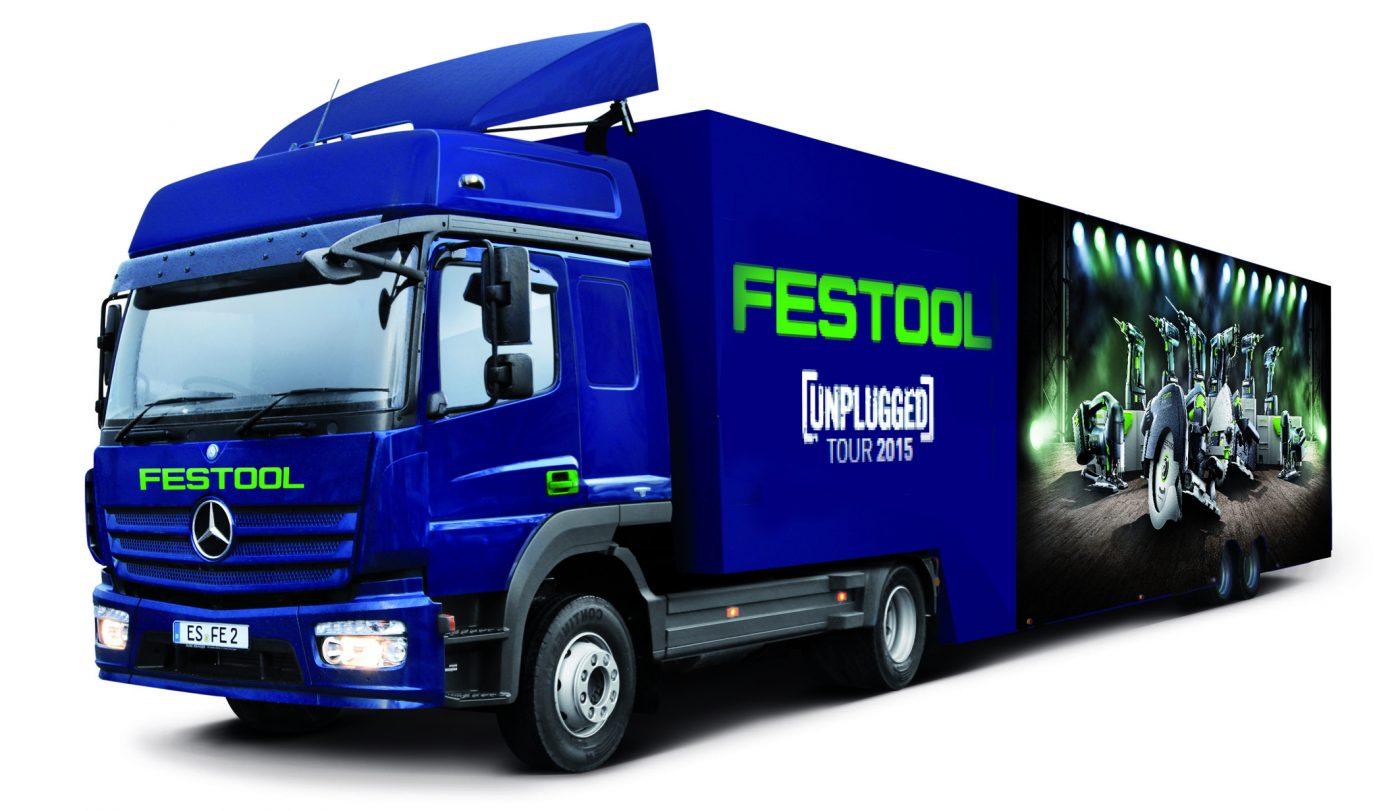 El camión de FESTOOL estará en FIMMA