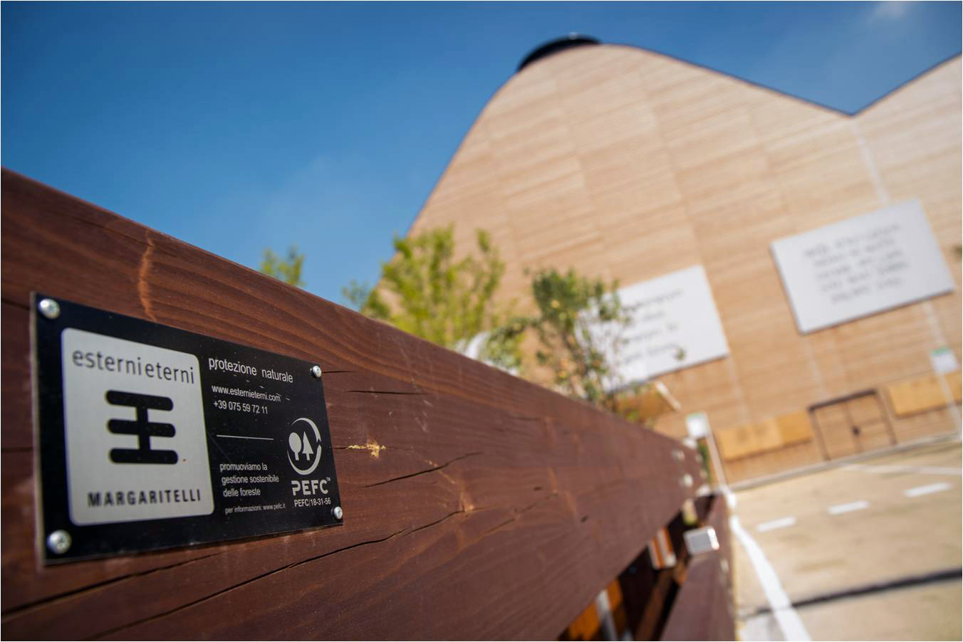Arquitectos y diseñadores apuestan por la madera certificada PEFC en Expo Milán