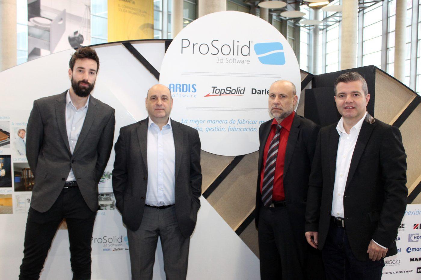 PROSOLID 3d Software presentará en FIMMA su respuesta integral para la industria del mueble y la madera