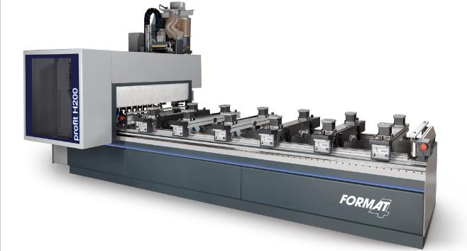 Nuevos centros CNC PROFIT H200 / H300 de FORMAT-4