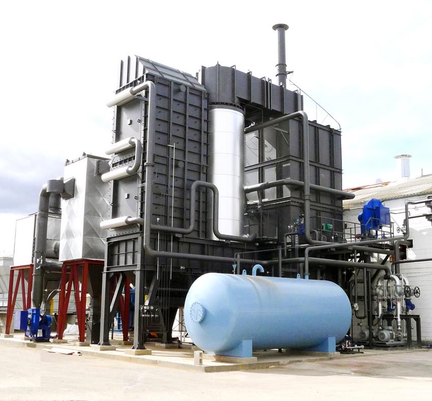 Energía térmica a partir de residuos de difícil combustión