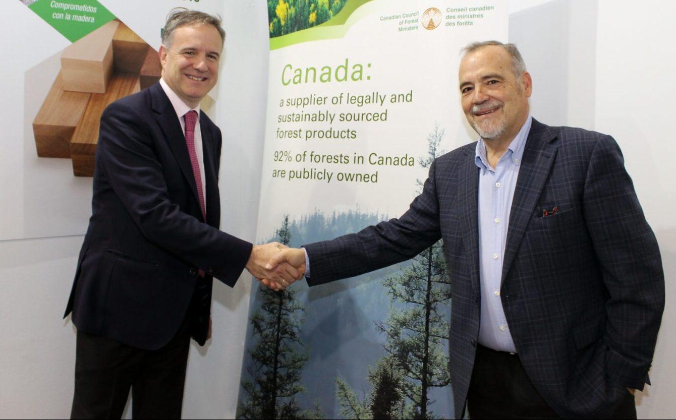 Aranceles cero para la madera canadiense en España