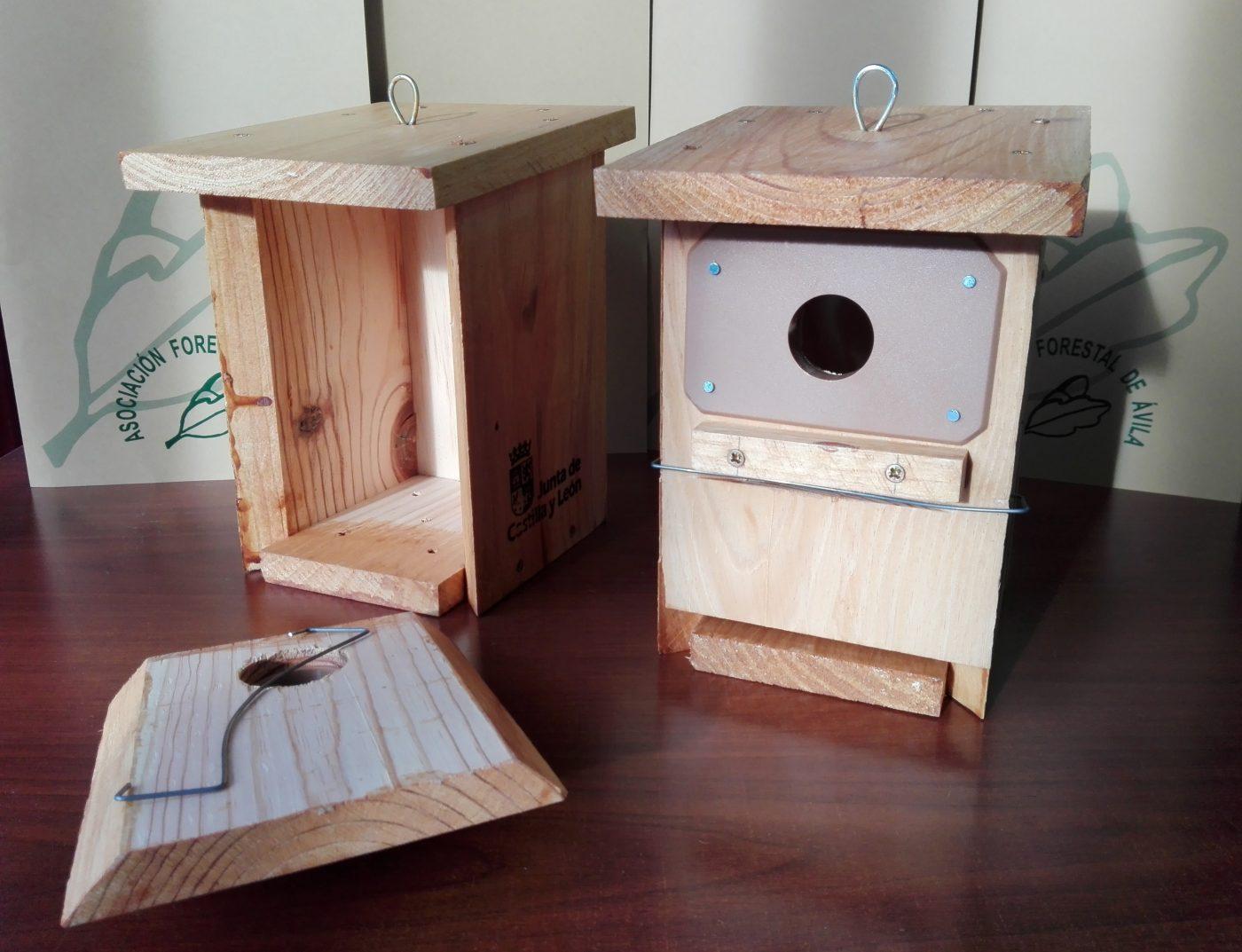 Reparto de Cajas-Nido para aves insectívoras entre propietarios forestales particulares
