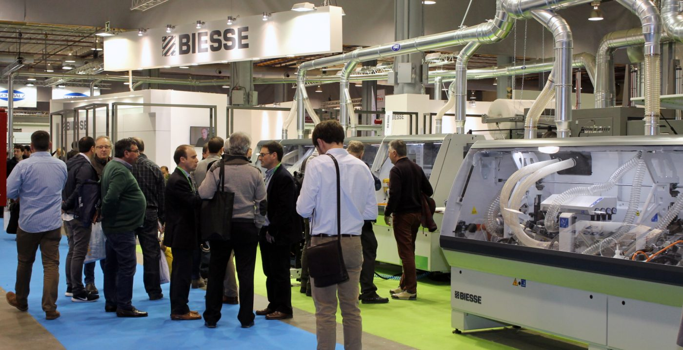 BIESSE presenta en FIMMA novedades y soluciones tecnológicas para las industrias del mueble y la carpintería