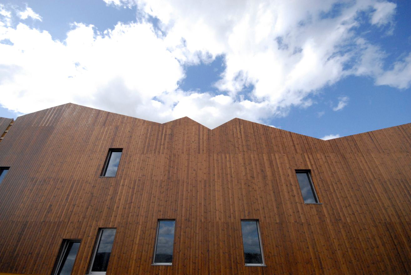 Lunawood® de GABARRO, madera termotratada para exteriores