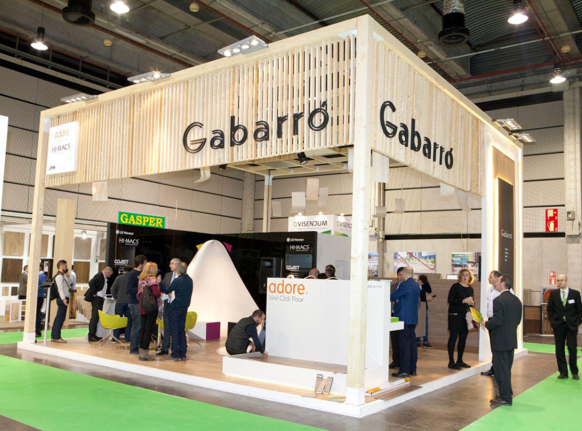 GABARRO sorprende en MADERALIA con los tableros flexibles de UPM Grada®