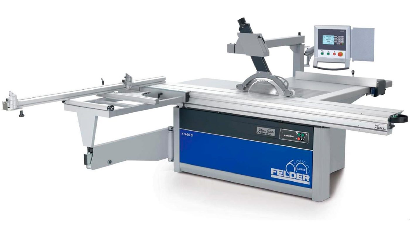 Nueva escuadradora FELDER K940 X-Motion