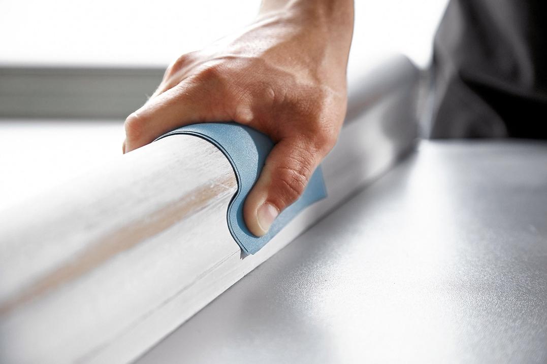 FESTOOL incorpora lijas manuales Granat y Vlies a su gama de abrasivos