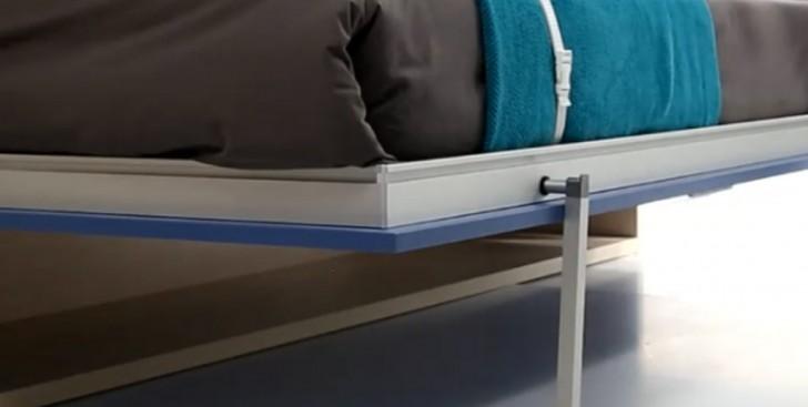 Nuevo sistema de patas escamoteables y sincronizadas - Patas para camas ...