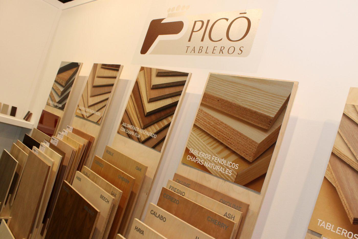 PICO Tableros exhibió su variada oferta en MADERALIA