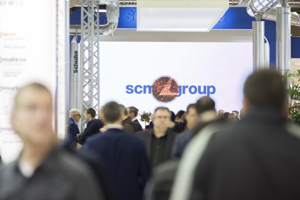 SCM Group presentó en Holz-Handwerk sus soluciones de software