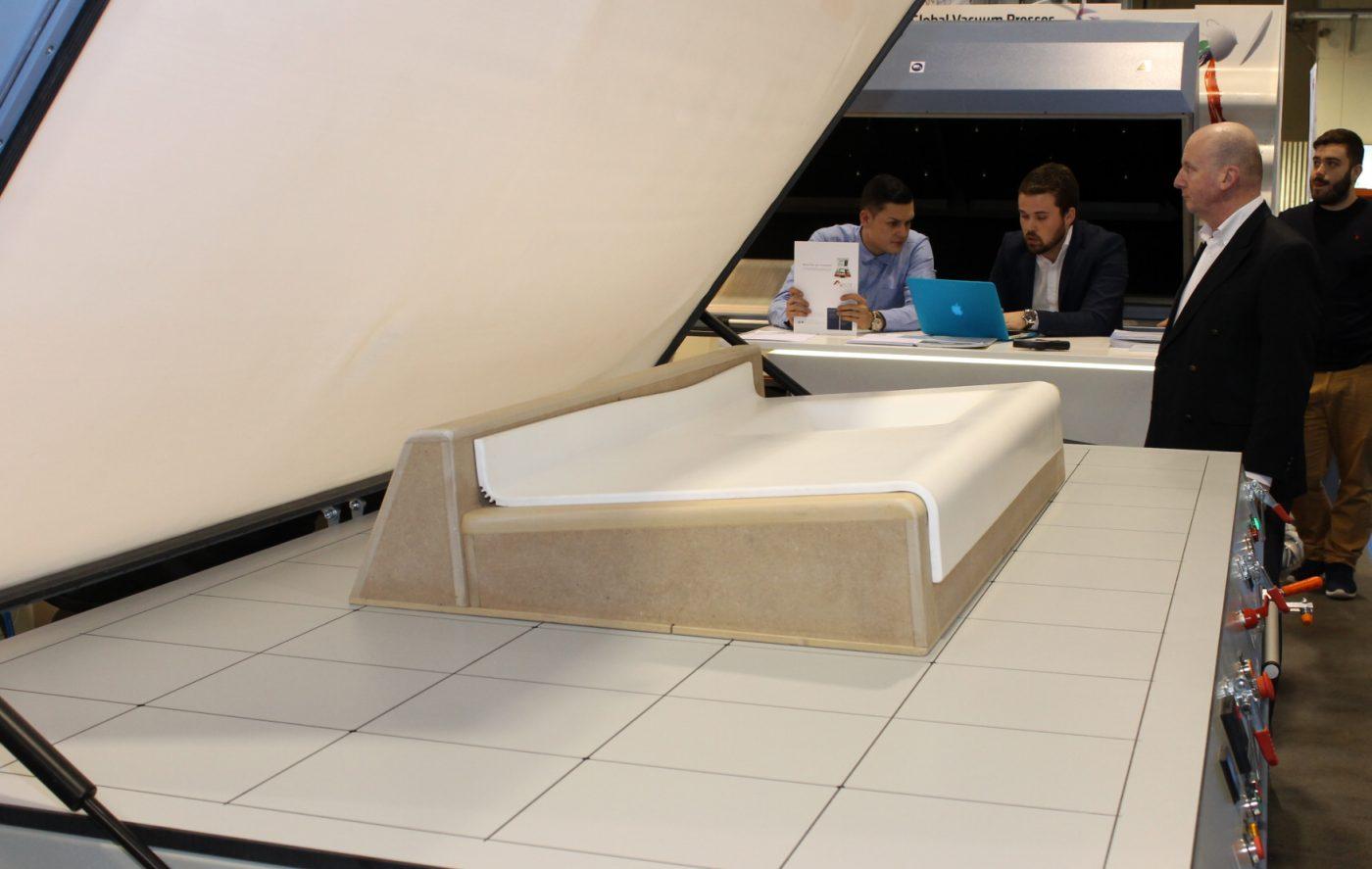 "Nueva máquina de termoformado ""Global Duo Standard"" de GLOBAL VACUUM PRESSES"