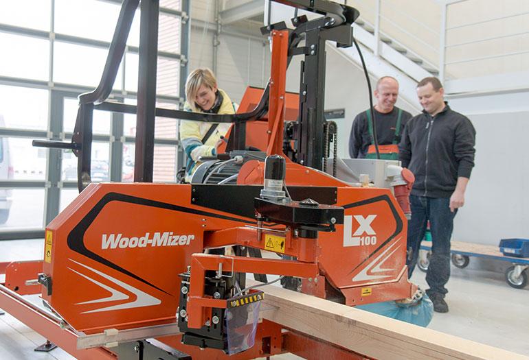 Nuevo aserradero económico de uso industrial  LX100, de WOOD-MIZER