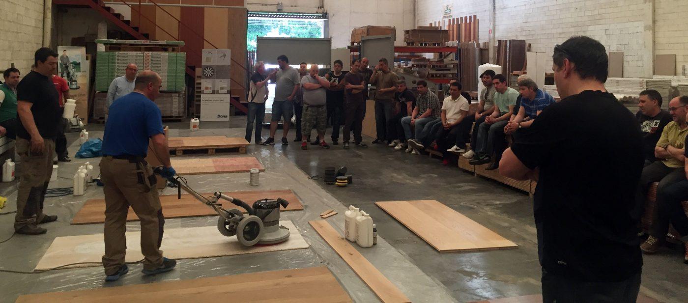 Seminario técnico de BONA en Bilbao
