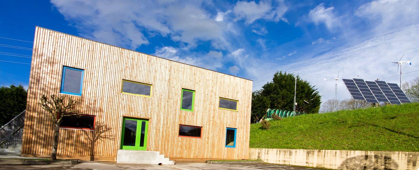 Nace ENEGUR, un edificio de madera de alta eficiencia energética construido en Usurbil