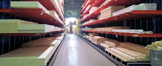 Holzwerkstoffe GFELLER: Más espacio para almacenamiento y mayor eficiencia