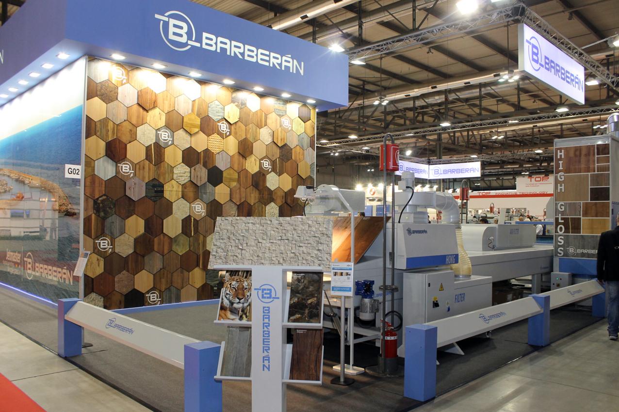 BARBERAN exhibirá en LIGNA soluciones inteligentes para una Smart Factory