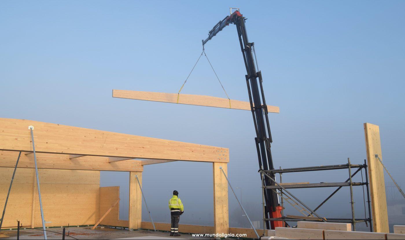 LIGNIA: «Hoy en día hablar de construcción en altura sostenible, de bajo impacto ambiental, es hablar de madera contralaminada»