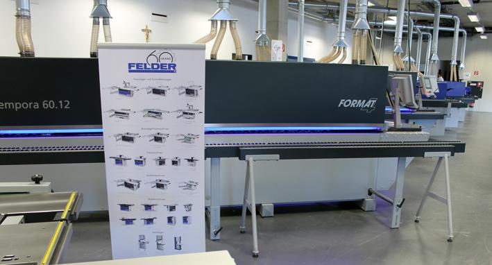 Con motivo del 60º Aniversario de la compañía, la familia Felder promete acometer este año nuevas inversiones por valor de 60 millones de euros.