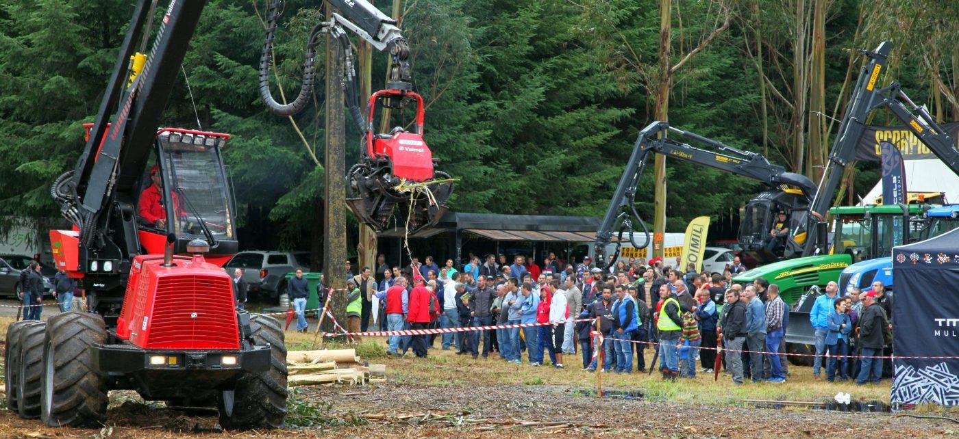 GALIFOREST Abanca 2016 acogerá un centenar de demostraciones en vivo de maquinaria forestal
