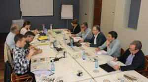 Instante de la Asamblea Anual celebrada recientemente por COSE, en el municipio lucense de Viveiro.