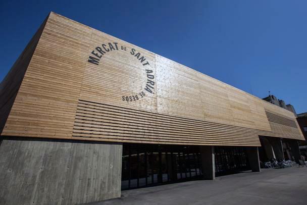 LUNAWOOD®, material protagonista en el nuevo Mercat Municipal de Sant Adrià de Besòs
