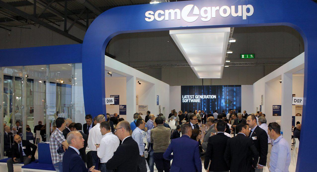Enorme éxito de SCM Group en Xylexpo 2016