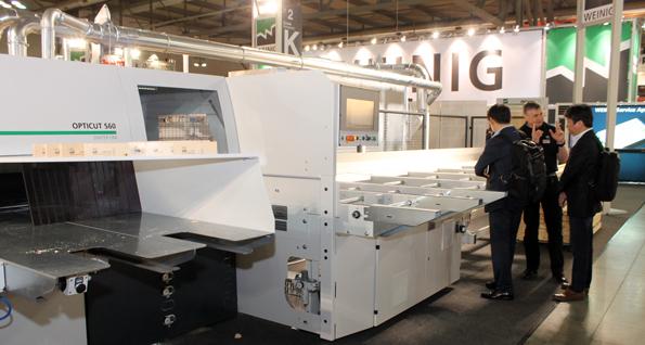Resultado óptimo en Milán: Equipos y sistemas del grupo Weinig fueron objeto de gran demanda.
