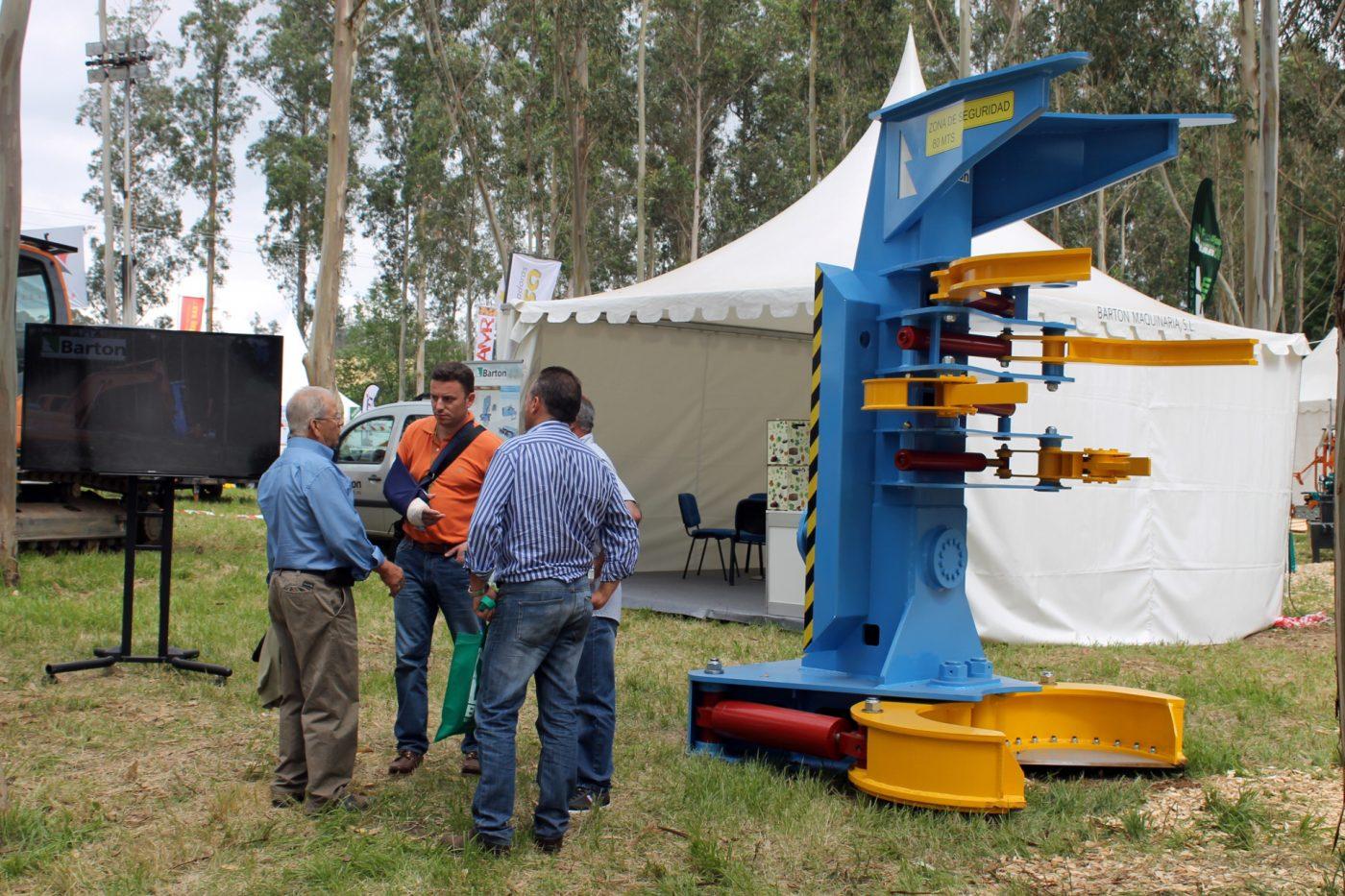 Nuevo talador forestal TDCB 600 G, de BARTON