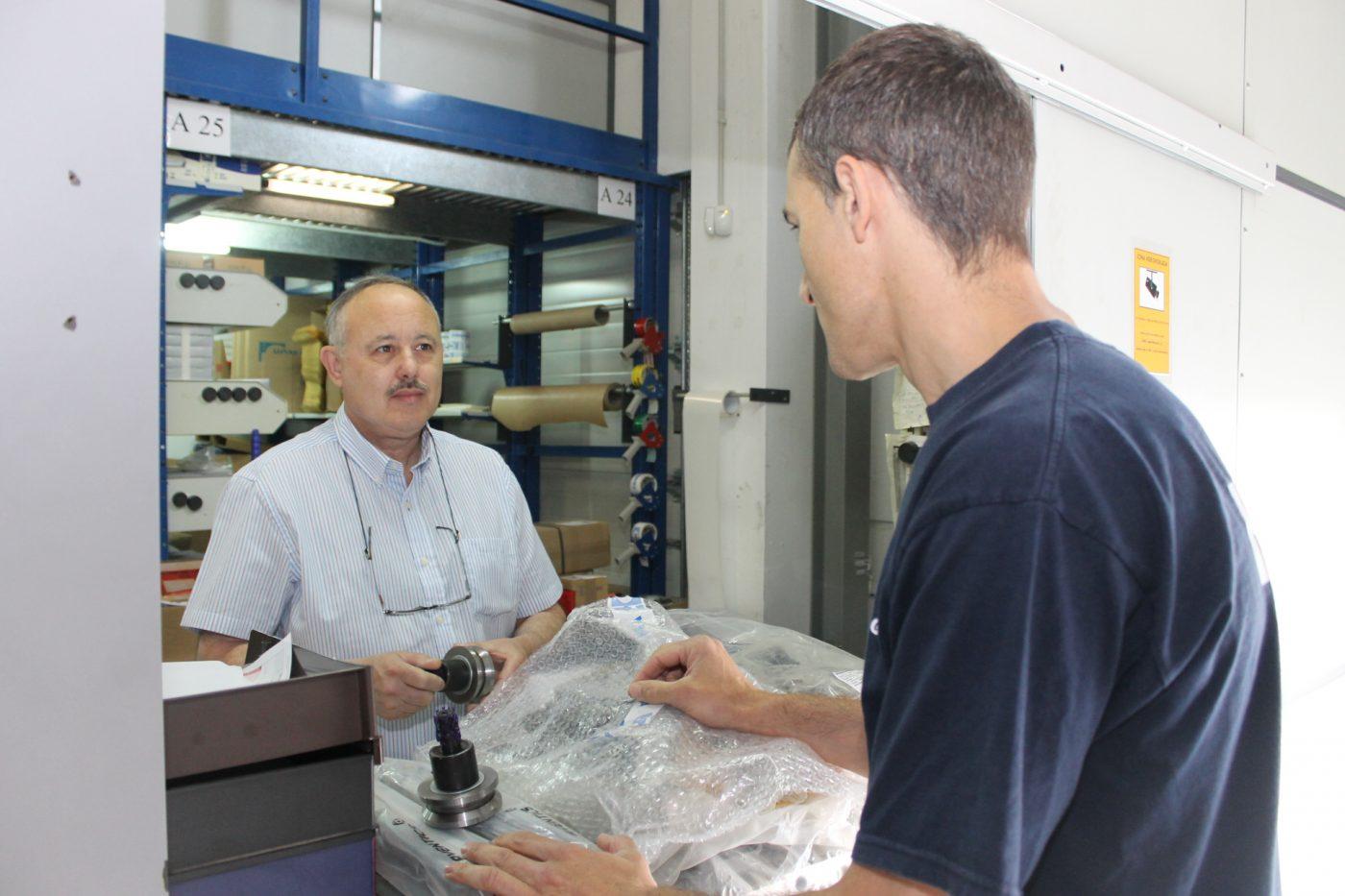 HOMAG ESPAÑA garantiza la entrega de recambios y accesorios en 24 horas