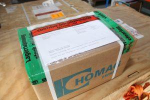 Desde HOMAG ESPAÑA también se devuelve a Alemania las piezas defectuosas o averiadas sustituidas en garantía.