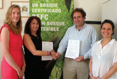 PEFC firma un convenio de colaboración con LANDSCARE