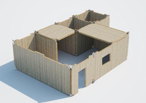 """""""X-RAD, de ROTHOBLAAS, permitirá prefabricación, exactitud y rapidez de montaje de estructuras de CLT"""""""