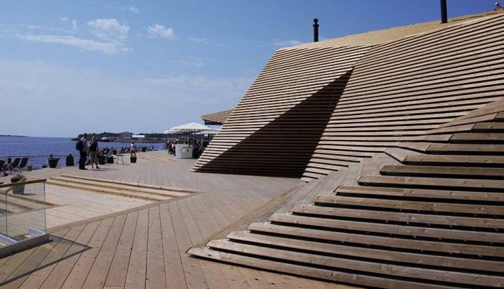 Finlandia inaugura su primera sauna pública certificada FSC