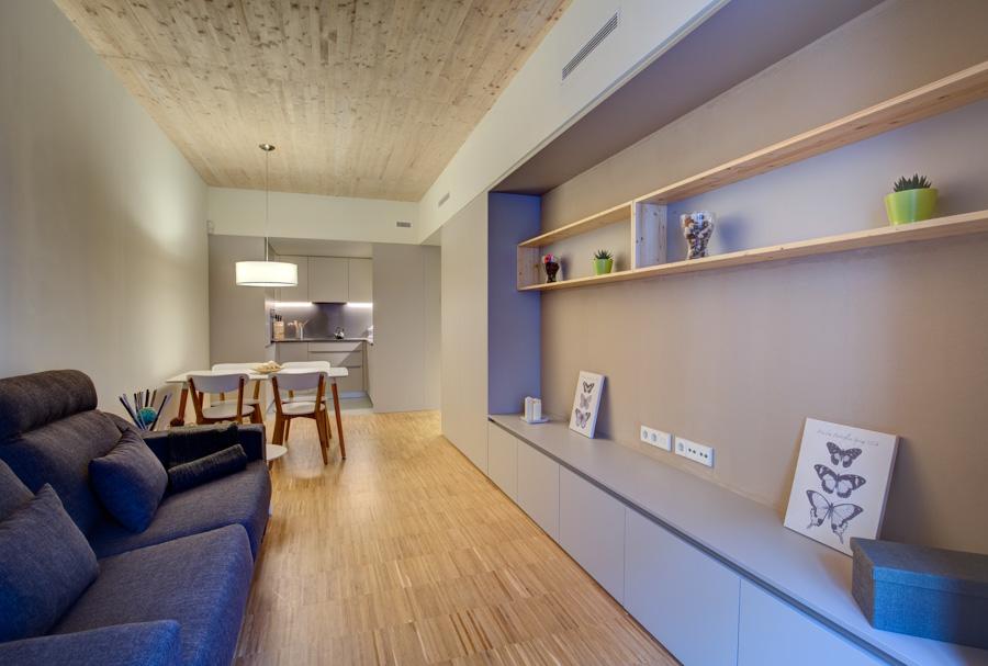 apartamentos funcionales y sostenibles madera sostenible