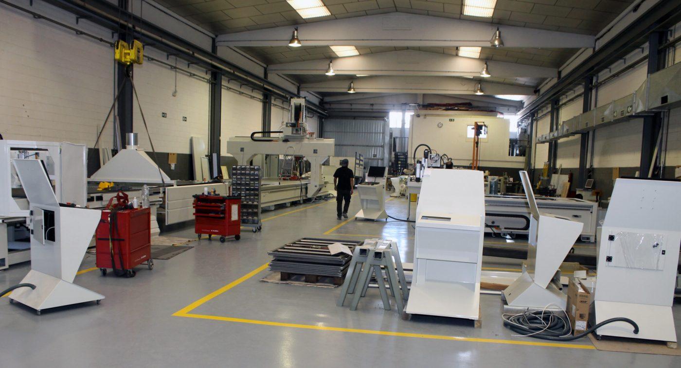 RIERGE ya tiene a pleno rendimiento su nueva planta de producción