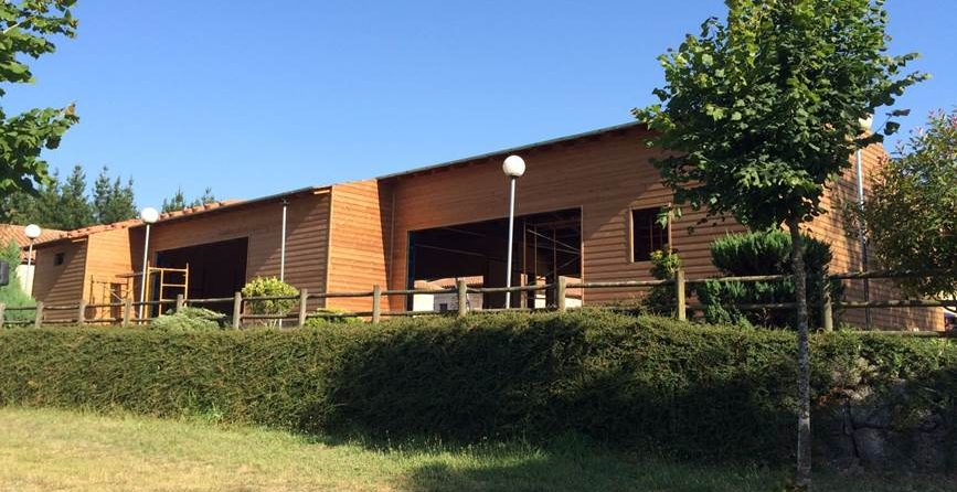 Restaurante en Antas de Ulla (Lugo), un proyecto realizado íntegramente con madera