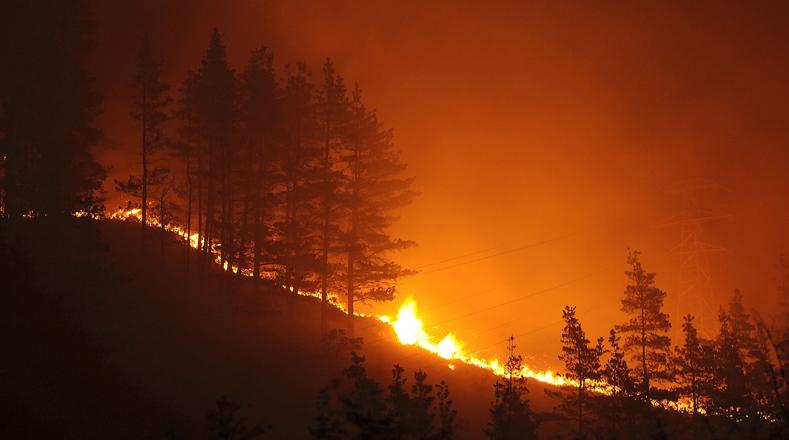 El fuego ha arrasado más de 57.000 hectáreas de superficie forestal en España